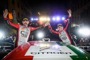 Luca Rossetti, Eleonora Mori, Citroen C3 R5 #7, FPF Sport