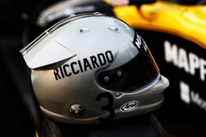 Casco de Daniel Ricciardo, Renault F1 Team