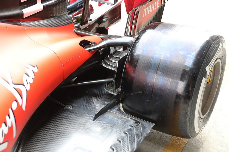 Ferrari SF90 rear detail
