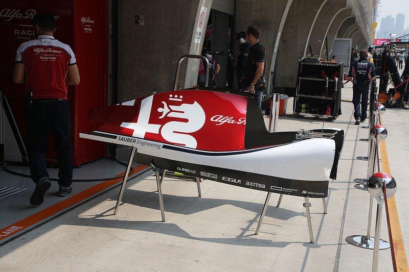 Аеропакет Alfa Romeo Racing C38