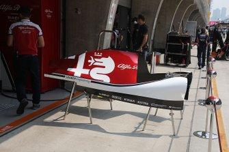 Alfa Romeo Racing C38 carrocería