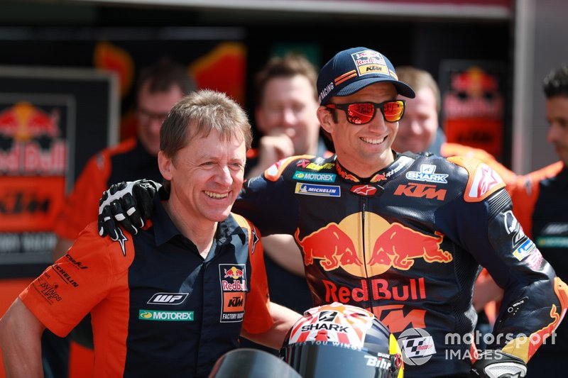 Mike Leitner, Johann Zarco, Red Bull KTM Factory Racing