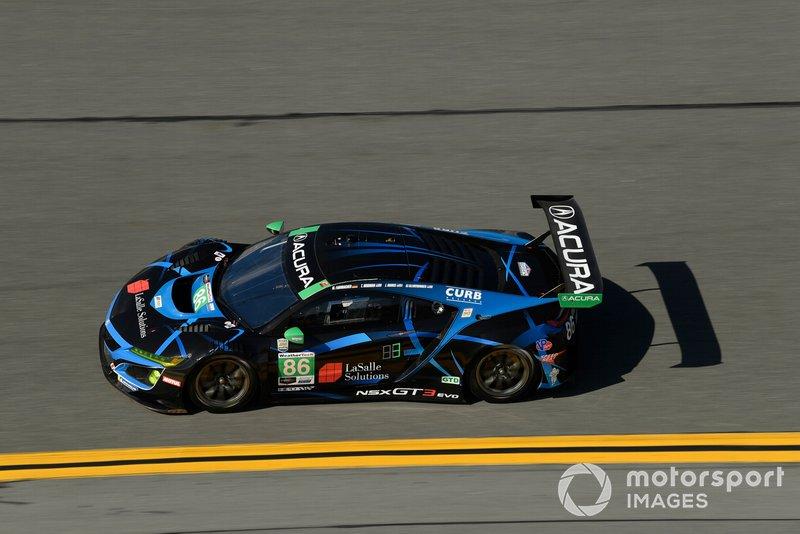 #86 Meyer Shank Racing w/ Curb-Agajanian Acura NSX GT3, GTD: Mario Farnbacher, Trent Hindman, Justin Marks, AJ Allmendinger