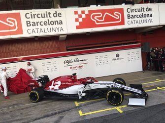 Kimi Raikkonen, Alfa Romeo Racing, Antonio Giovinazzi, Alfa Romeo Racing