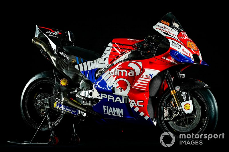 Pramac Racing bike