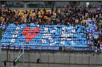 Crowd support for Kimi Raikkonen, Alfa Romeo Racing