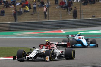 Antonio Giovinazzi, Alfa Romeo Racing C38, Robert Kubica, Williams FW42