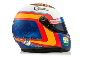 Helmet of Carlos Sainz Jr., McLaren