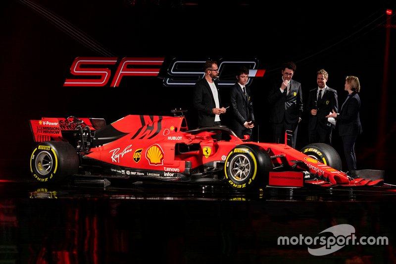 Presentación del Ferrari SF90