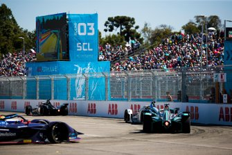 Oliver Rowland, Nissan e.Dams, Nissan IMO1 Felipe Massa, Venturi Formula E, Venturi VFE05 e Mitch Evans, Jaguar Racing, Jaguar I-Type 3