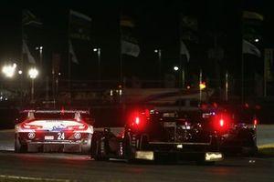 #24 BMW Team RLL BMW M8 GTE: Jesse Krohn, John Edwards, Chaz Mostert, Alex Zanardi, #55 Mazda Team Joest Mazda DPi: Jonathan Bomarito, Harry Tincknell, Olivier Pla