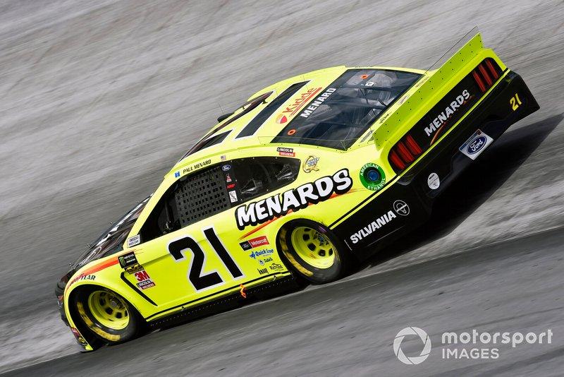 6. Paul Menard, Wood Brothers Racing, Ford Mustang