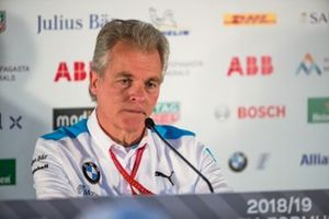 J-F Thormann, President of Andretti Autosport in the press conference