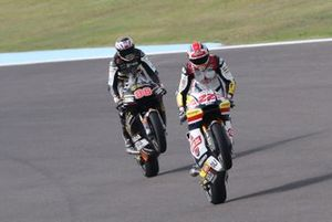 Sam Lowes, Gresini Racing, Jake Dixon, Angel Nieto Team