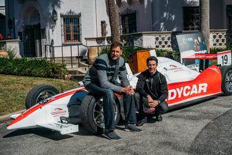Brent Barry, Simon Pagenaud - IndyCar, San Antonio
