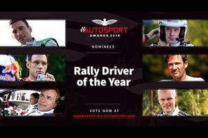 Pilote de rallye de l'année