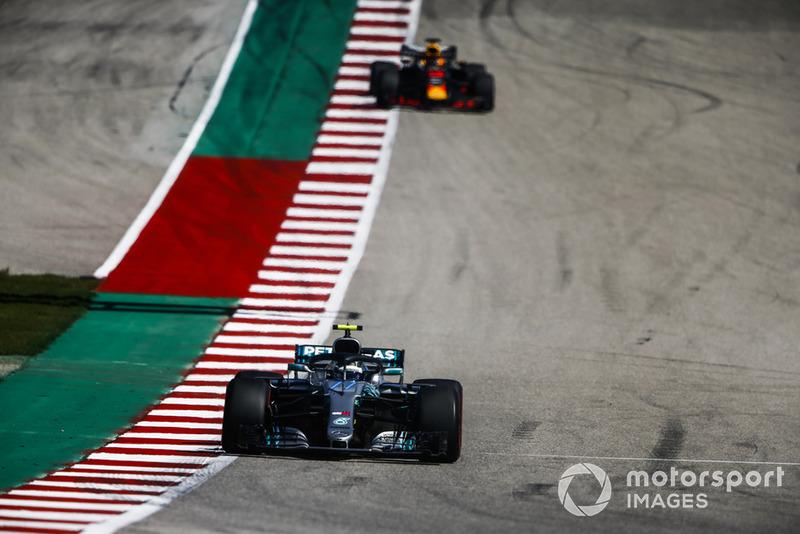 Valtteri Bottas, Mercedes AMG F1 W09 EQ Power+, Daniel Ricciardo, Red Bull Racing RB14