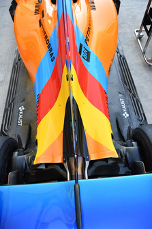 Special livery Fernando Alonso, McLaren MCL33