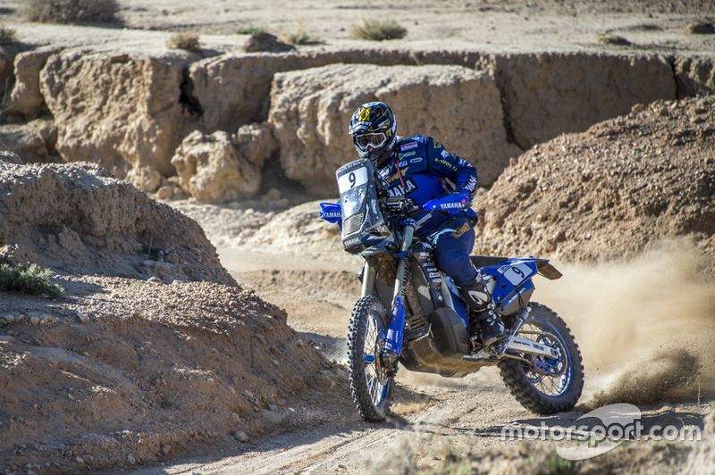 #9 Yamalube Yamaha Official Rally Team: Xavier De Soultrait