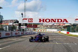 Brendon Hartley, Toro Rosso STR13, sur la grille