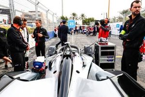 Sébastien Buemi, Nissan e.Dams, Nissan IMO1 on the grid