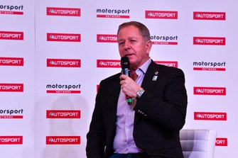 Martin Brundle talks to Stuart Codling on the Autosport Stage