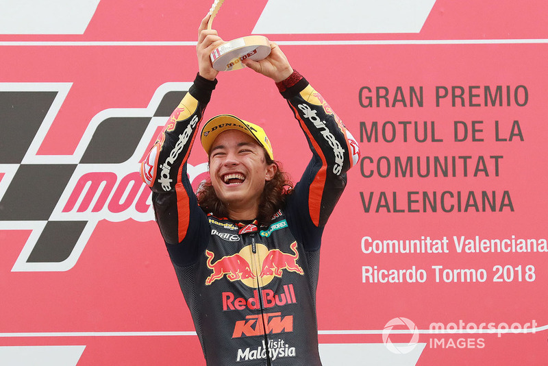 Podio: Ganador, Can Oncu, Red Bull KTM Ajo
