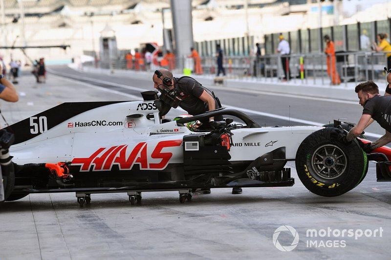 Луи Делетраз, Haas F1 Team VF-18