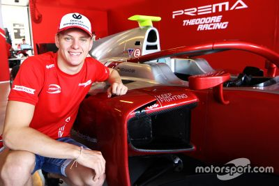 Annonce Prema / Schumacher