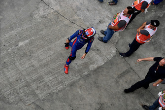 Brendon Hartley, Scuderia Toro Rosso in parc ferme