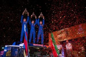 Podyum: #500 Team Kamaz Master: Eduard Nikolaev, Evgeny Yakovlev, Vladimir Rybakov