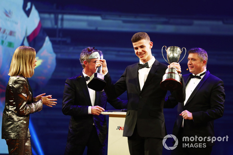 McLaren Autosport BRDC Award winner Tom Gamble