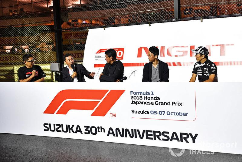 Satoru Nakajima, Aguri Suzuki, Kazuki Nakajimi and Takuma Sato