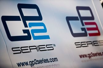 GP2 and GP3 series logos