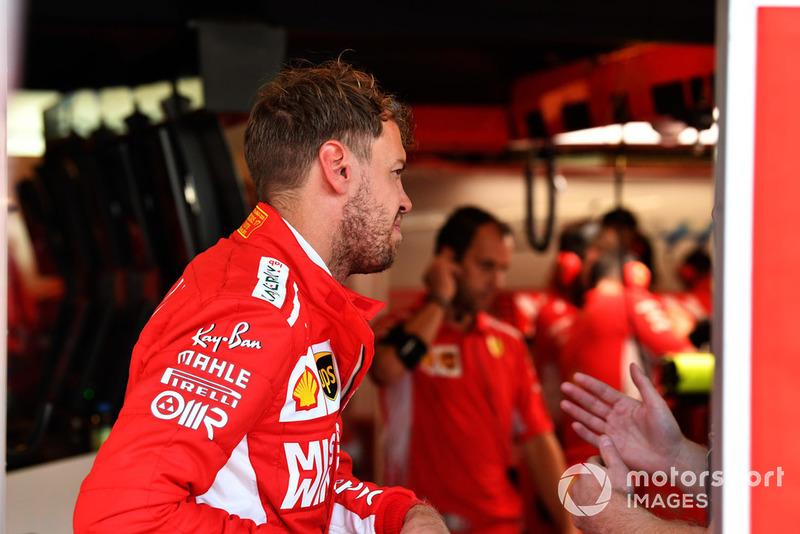 Apakah Vettel dan Anda punya kebutuhan dan gaya balap yang sama?