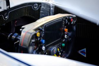 Le cockpit de la Sauber