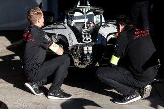 Car of Maximilian Günther, Dragon Racing, Penske EV-3