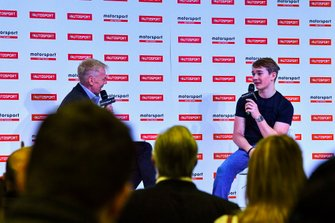 Alan Hyde and Billy Monger on stage