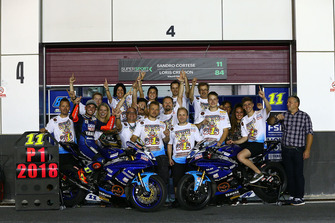 Supersport-Weltmeister 2018: Sandro Cortese, Kallio Racing