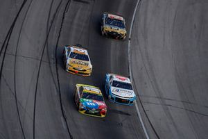 Kyle Busch, Joe Gibbs Racing, Toyota Camry M&M's, Darrell Wallace Jr., Richard Petty Motorsports, Chevrolet Camaro NASCAR Racing Experience
