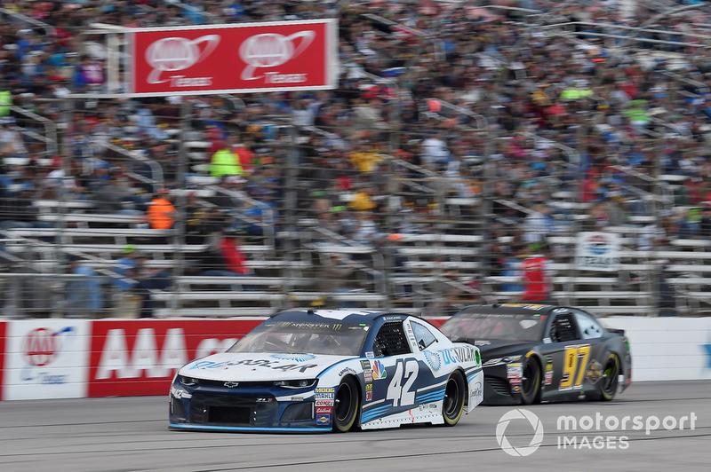 Kyle Larson, Chip Ganassi Racing, Chevrolet Camaro DC Solar, David Starr, Obaika Racing, Toyota Camry