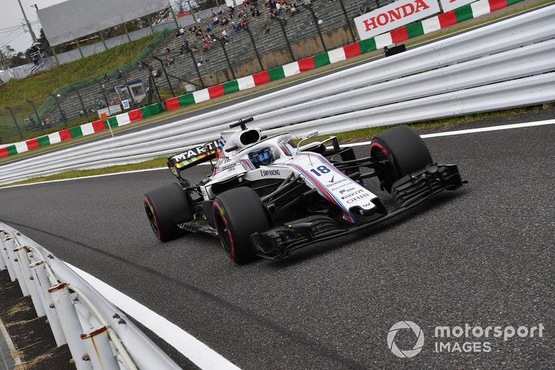 14: Lance Stroll, Williams FW41, 1'30.714