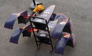 Virgin Racing bodywork