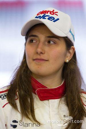 Tatiana Calderon, Sauber C37 testcoureur