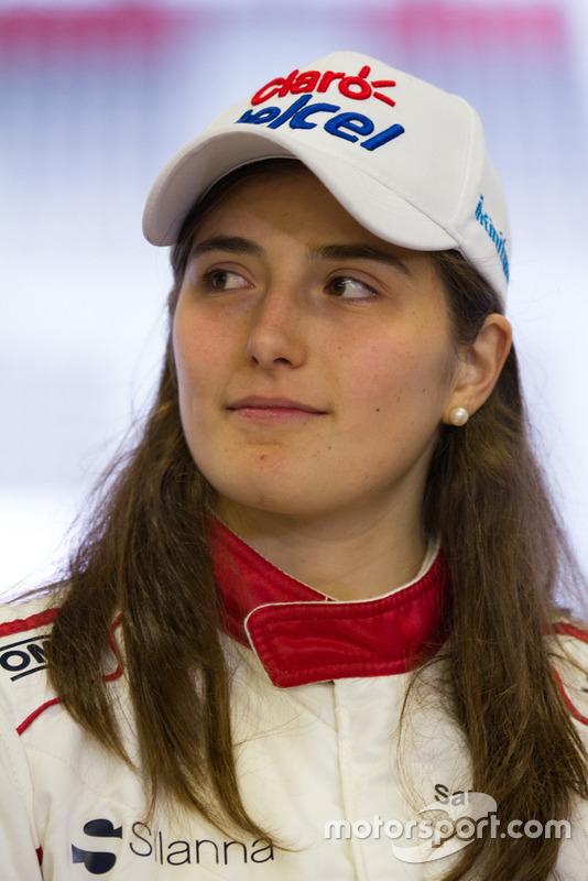 Tatiana Calderón, Sauber C37 piloto de prueba