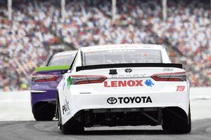 Denny Hamlin, Joe Gibbs Racing, Toyota Camry FedEx Freight, Daniel Suarez, Joe Gibbs Racing, Toyota Camry Lenox