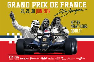 Affiche du Grand Prix de France Historique 2019