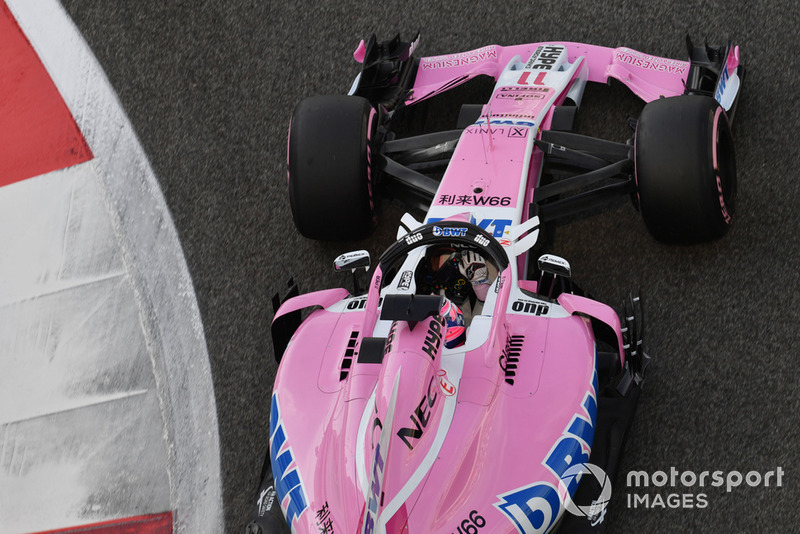14: Sergio Perez, Racing Point Force India VJM11, 1'37.541