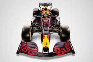 La Red Bull Racing RB16B avec le logo Acura