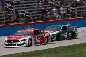 Ryan Blaney, Team Penske, Ford Mustang DEX Imaging, Kevin Harvick, Stewart-Haas Racing, Ford Mustang Hunt Brothers Pizza